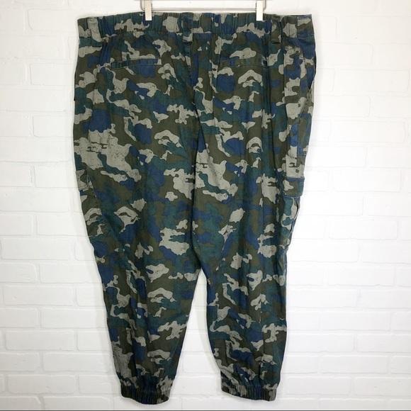 4dee8c74239f7 wild fable Pants | Camo Print Cargo Olive Plus Size | Poshmark